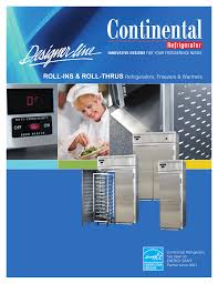 Dl Foodservice Design Roll Ins Roll Thrus Refrigerators Freezers Amp
