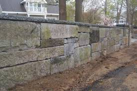stone walls garden retaining wall