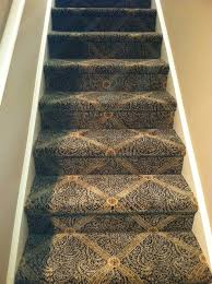 Patterned Stair Carpet Magnificent Beautiful Patterned Carpet For Your Stairs Traditional Staircase