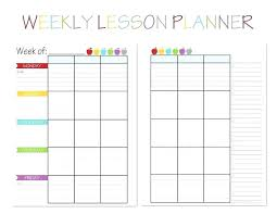 teacher planning calendar template pertaining to planner weekly editable with stickers p