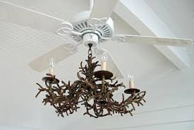 ceiling fan chandelier diy image of rustic chandelier fan combo diy ceiling fan chandelier combo