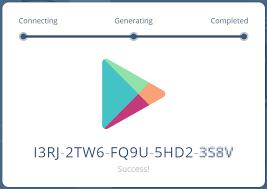 free google play gift card no survey no human verification