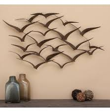 flying v birds metal wall art decoration metal wall art decor