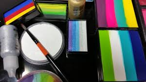 picture of face painting supplies