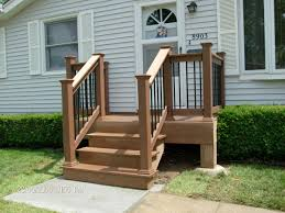 Deck Designs For Manufactured Homes Front Deck Designs For Mobile Homes Home Design Ideas