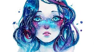 Galaxy Girl Wallpapers Top Free Galaxy Girl Backgrounds
