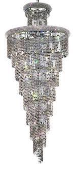 elegant lighting v1800sr36c rc 1800 spiral collection chandelier d 36in h 86in lt