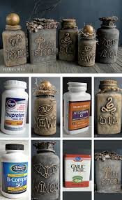 diy halloween decorations home. 22 Amazing Diys For Outside Halloween Decorations 13 Potion Jars Inside Easy Diy Decor To Create Spooky Look Regarding Your Home Y