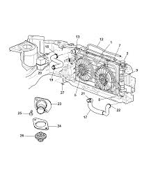 2002 chrysler town country radiator related parts thumbnail 1