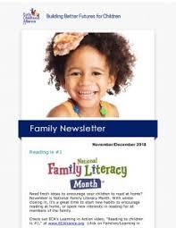 family newsletter family newsletter early childhood alliance