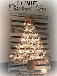 Handmade Pallet Christmas Tree: Source