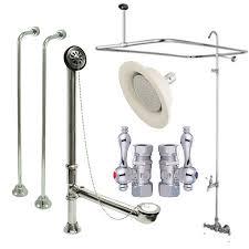 shower riser for clawfoot tub. kingston brass 3 3/8\ shower riser for clawfoot tub