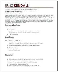 Example Of Perfect Resume - Resume Sample