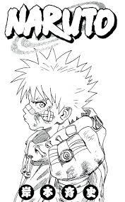 Coloring Pages Naruto Akatsuki Nine Tailed Fox Birthday Coloring