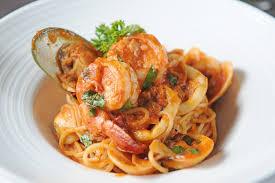 Pan-Seared Scallops with Pasta Recipe ...