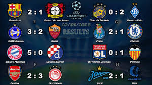 uefa champions league results league table 29 30 09 2016