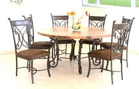 round outdoor dining table for 6 person impressive 36 x 60