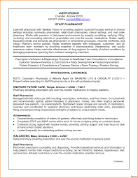 Consultant Pharmacist Sample Resume Resume Format For Pharmacist Free Download Retail Pharmacist Resume 10