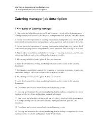 Barista Job Description Resume Samples Packed With Job Description ...