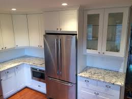 Kitchen Facelift Kitchen Amazing White Kitchen Cabinets Facelift Frezer Recessed