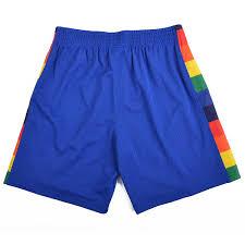 Nba Swingman Shorts Size Chart Mitchell And Ness Nba Swingman Shorts Denver Nuggets Royal Blue Bei Kickz Com
