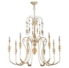 maison french country antique white 8 light chandelier kathy kuo home view full size