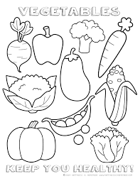 Small Picture images about fruits veggies on pinterest printable coloring
