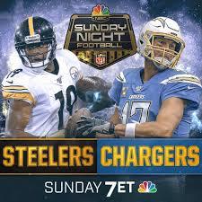 Sunday Night Football Pittsburgh Steelers Vs Los Angeles