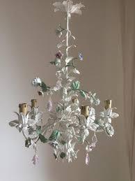 porcelain flowers chandelier