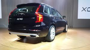 volvo 2015 xc90 back. 2016 volvo xc90 rear three quarter india launch 2015 xc90 back