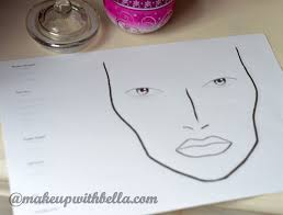 Textured Paper For Face Charts Makeup With Bella Face Charts What Is It About