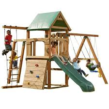 The 10 Best Wooden Swing Sets And Playsets Of 2018