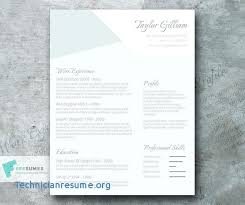 Creative Resume Templates Free Download Unique College Resume