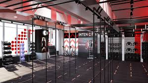 Fitness Club Design Gym Designers Zynk Complete Dramatic Red Health Club For
