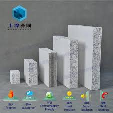 fireproof sound insulation composite solid polystyrene concrete wall panel