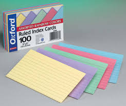 3x5 Cards Oxford Index Cards 3x5 Colored Barnes Noble At Uconn