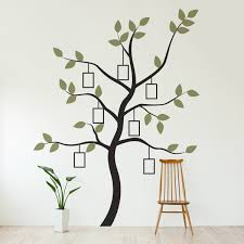 Simple Family Simple Family Tree Wall Decal Ideas Household Tree Wall Decal For