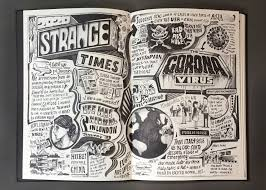 The asx was already on its way down when victoria's latest lockdown was announced and kept sliding as the session dragged on. Illustrator Vic Lee Publishes Hand Drawn Corona Diary Documenting His Lockdown Experience