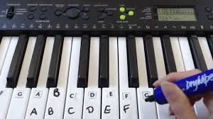 Yamaha Keyboard Chord Chart How To Label Keys On A Piano Keyboard