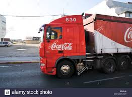 coca cola distribution israel beer sheva coca cola distribution truck stock photo