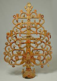 Aurelio Flores : Tree of Life Mexican Folk Candle Stand | Sumally (サマリー)