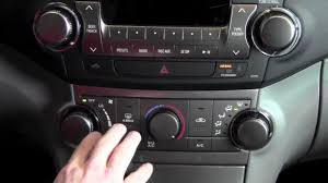2012 | Toyota | Highlander | Manual Temperature Controls | How To ...