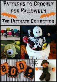 Halloween Crochet Patterns Classy 48 Patterns To Crochet For Halloween The Ultimate Collection