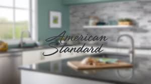 How To Choose A Kitchen Faucet Cadet Kitchen Collection American Standard