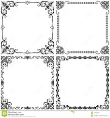 Vintage frames design stock vector Illustration of menu 37469804