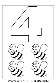 Small Picture Number Coloring Pages Free Printable Coloring Pages