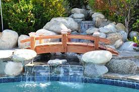 short post garden bridges