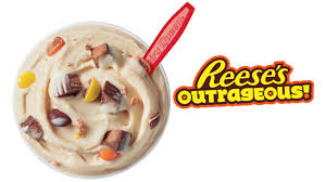 Dairy Queen Blizzard Nutrition Chart Reeses Outrageous Blizzard Is The Dairy Queen Blizzard Of