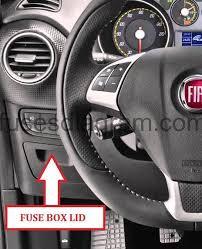 fuse box fiat punto 3 Fiat Punto Grande Fuse Box Layout fuse box layout fiat punto grande fuse box location