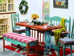 Colorful Dining Room Tables Custom Decorating Design